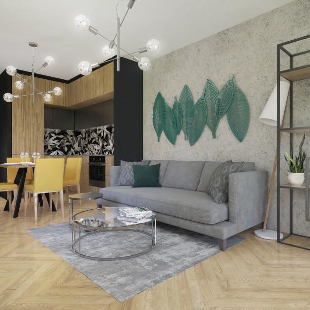 przykładowa aranżacja nowego mieszkania